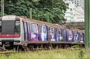 """香港首列""""复联""""港铁列车运行!《复联4》宣发破2亿"""
