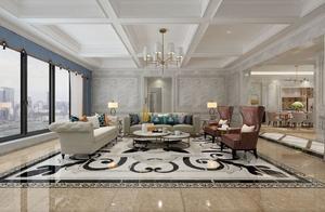 这是我65万元装修出来的284平米五居室,大家看看亏不亏!-中天未来方舟装修