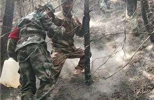 龙池山火灾追踪:明火已基本扑灭 灭火队员每天运水600多公斤