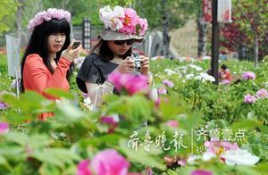 「牡丹盛宴」采访菏泽市文化和旅游局局长尹慧萍