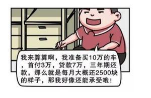 贷款买车猫腻有多大?车价10万,贷款三年和全款一比,相差真大!