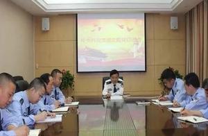 陈文军同志为秘书科党支部宣讲习近平新时代中国特色社会主义思想
