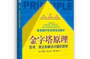 提升逻辑思维的6个方法,让你人生开挂,你不得不知的金字塔原理