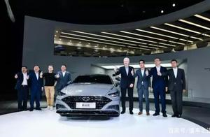 第十代索纳塔领衔4款新品同台首发,北京现代超豪华阵容现身车展