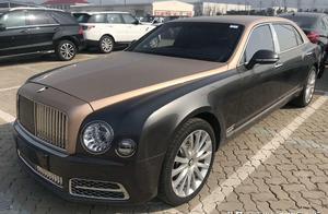 宾利慕尚,殿堂级别车型,皇家风范