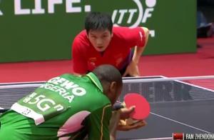 国乒内战将打响!樊振东4-0晋级,王皓场外助威,大小胖即将交锋