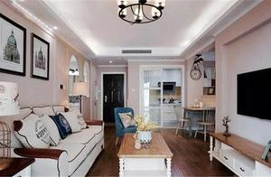 新房装修效果,客厅尽显清新雅致!