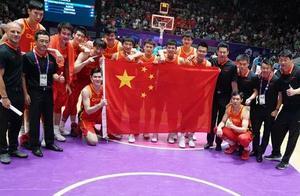 男篮世界杯抽签结果出炉,中国队是上上签!杨超越只能帮到这里了