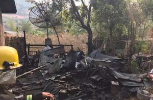 掸邦男子泼水节想租摩托车出去浪,遭拒后纵火烧主人家房子