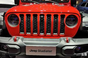【2019上海车展】Jeep皮卡Gladiator正式发布