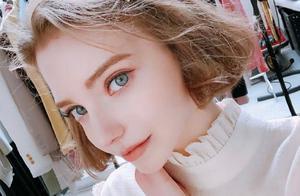 在韩国发展的麻豆Chloe,金发蓝眼甜美可人,简直就是仙女下凡!