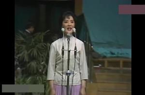 李谷一1981年37岁现场演唱绒花