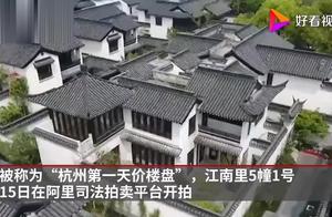杭州女股神栽了!5600万卖豪宅5万人围观没人出手!