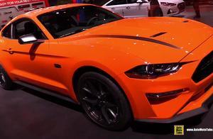 2020款福特野马Mustang高性能版实拍