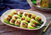 青菜炒草菇怎么做好