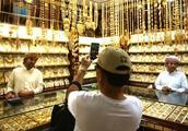 迪拜的黄金街,绝对闪瞎的眼