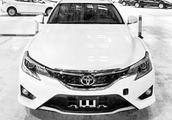 一汽丰田锐志宣布停产,以后只能买挂X标的进口锐志