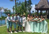 包文婧大婚,贾玲晒新娘与伴娘团未经过PS照,称你是最美新娘