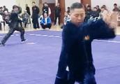 漯河心意六合拳名家李洳波先生弟子王广超演练的心意拳视频