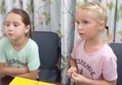 俄罗斯大叔带着两个女儿定居中国,才上三年级汉语已经很流利!