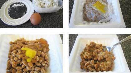 纳豆拌饭怎么做