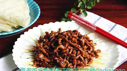 京酱肉丝的做法 怎么做正宗老北京味视频 高清