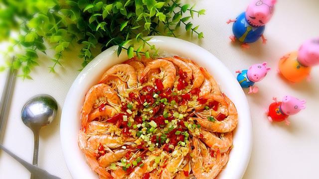 蒜蓉粉丝蒸虾的做法5分极速11选5图,怎么做好吃
