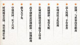 北京胡野秋 深圳最有影响力十大观念的诞生过程