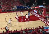 NBA2K18 季后赛模拟 西决 第1场 勇士VS火箭 最后时刻