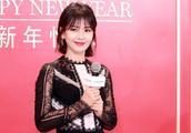 41岁刘涛也是不老美人,一条普通黑裙都温柔似水,新短发更是减龄