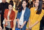 郭晶晶与张梓琳同框,身高竟如此尴尬,却在衣服上略胜一筹