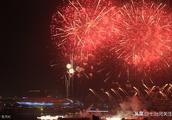 七台河正月十五焰火晚会,燃放地点市体育会展中心东侧,封道情况