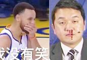 NBA韩国解说流鼻血:排除加班狗和绝症!库里知道真相?