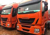 二手车市场的依维柯进口卡车实拍,依维柯重卡在国内为何这么惨?