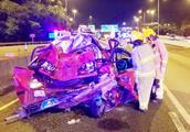 出租车几被撞成团状!香港发生严重车祸 已致5人死亡34人受伤