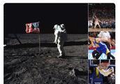 库里不信人类登月,网友:你觉得哪张是假的!