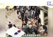 福州闽江学院禁外卖?为抵抗外卖商家在食堂门口免费发餐