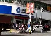 突发!安溪官桥发生惨烈车祸!摩托车驾驶员面目全非、当场死亡!