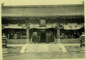 老照片:慈禧逃跑后,空无一人的故宫紫禁城