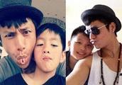 转眼间,陈坤儿子16岁了,比陈坤还高,帅气的外表暴露了其生母