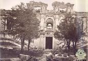 140年前的圆明园老照片:那时虽破败,但主体都还在,难得一见!