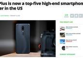 全球市场多点开花,一加:美国高端手机市场份额前五只是开始