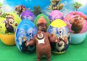 熊大拆熊出没奇趣蛋 冰雪奇缘出奇蛋