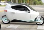 不倒翁电动车怎么撞都撞不倒,这车要是量产,估计没人买汽车了!