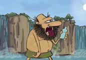 疯狂原始人:原始人都知道喝纯净水,也太聪明了吧!