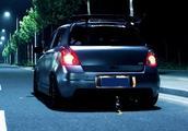 为了跑过本田GK5,雨燕车主除了吃饭几乎把所有钱都用在改装上!