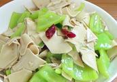 豆腐皮炒茼蒿的做法,豆腐皮炒茼蒿怎么做好吃