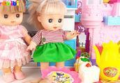 亮亮玩具厨房微波炉和奇趣蛋玩具,婴幼儿宝宝教育游戏视频