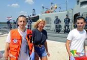 英国一名女游客从游轮坠海漂流10小时 获克罗地亚海警搭救