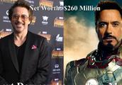复联3演员个人财富排名,电影内外钢铁侠都是首富,第二出乎意料